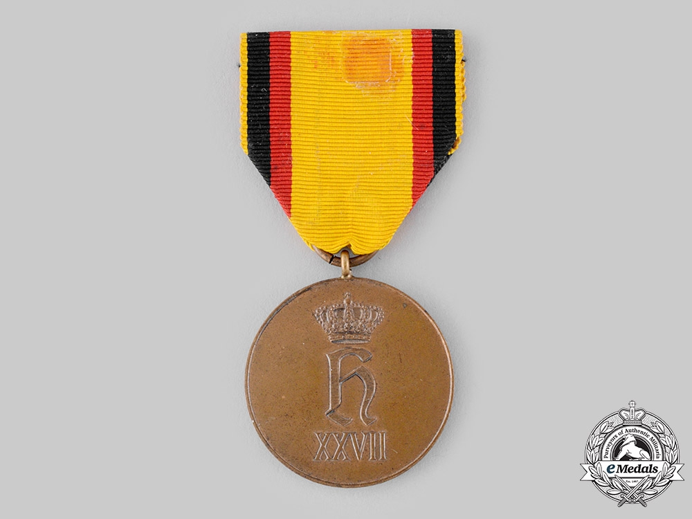eMedals-Reuss, Principality. A Medal for Sacrifice in Wartime, c.1915