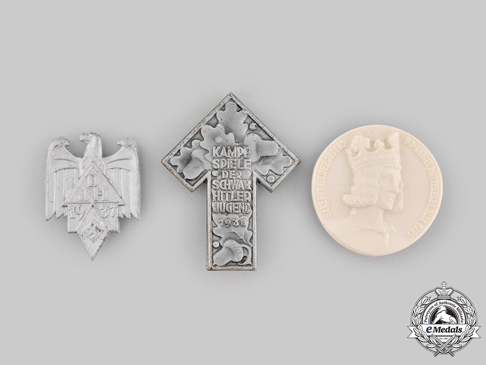 eMedals-Germany, HJ. A Lot of Commemorative Badges