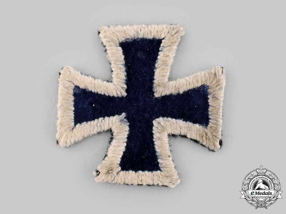 eMedals-Prussia, Kingdom. An 1813 Iron Cross, Cloth Version, Museum Display Piece