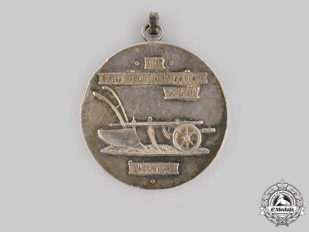 eMedals-Bavaria, Kingdom. A Silver Agricultural Medal for Loyalty and Diligence