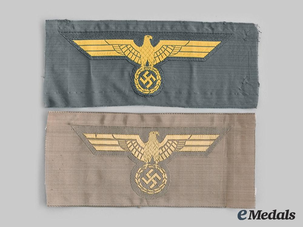 eMedals-Germany, Kriegsmarine. A Pair of Breast Eagles