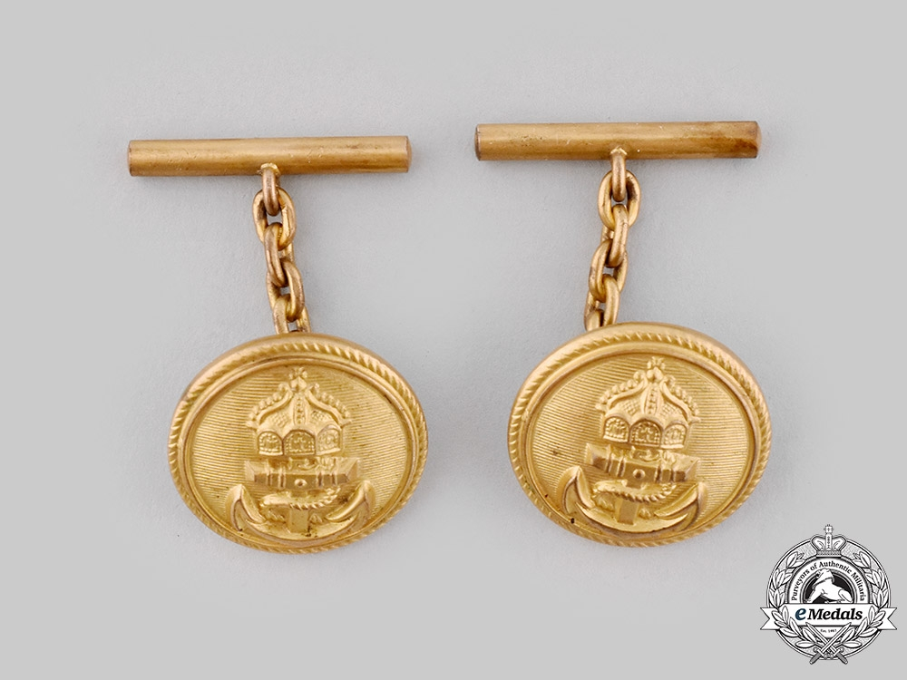 eMedals-Germany, Imperial. A Pair of Imperial Naval Officer's Cape Clasps