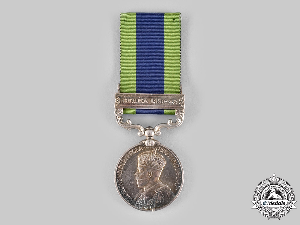 eMedals-United Kingdom. An India General Service Medal 1908-1935, 3rd Battalion, 16th Punjab Regiment