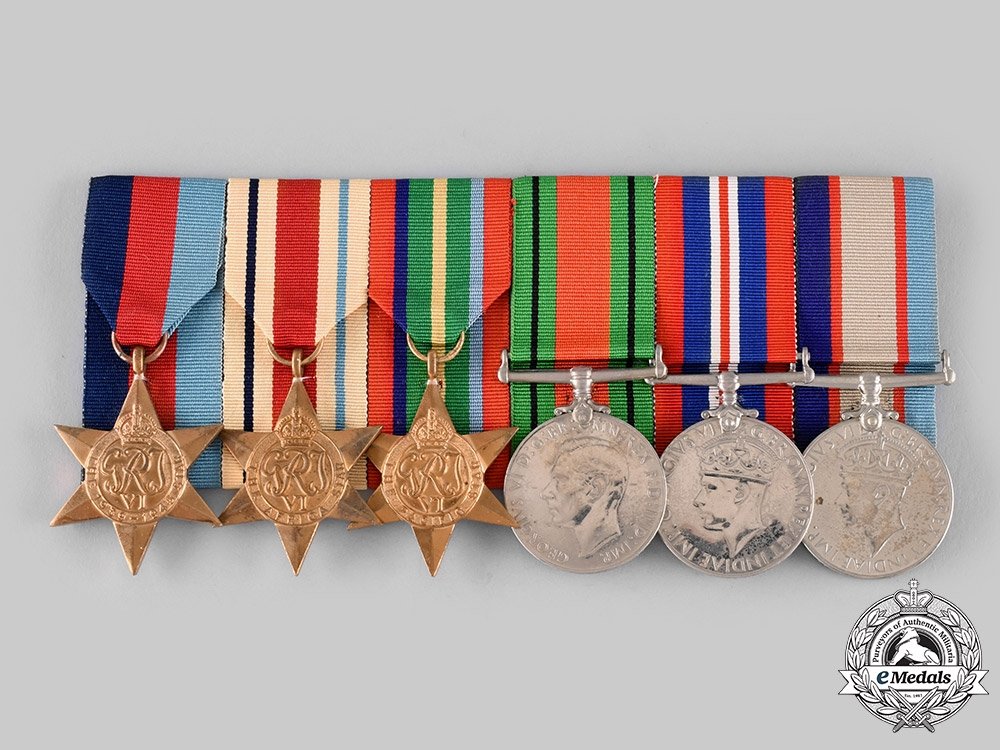 eMedals-Australia, Commonwealth. A Group of Six, 2/13th Australian Field Company, Australian Imperial Force