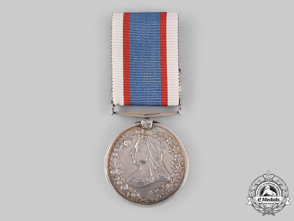 eMedals-Canada, Dominion. A His Majesty's Army & Navy & Colonial Forces Veterans Association Medal 1901