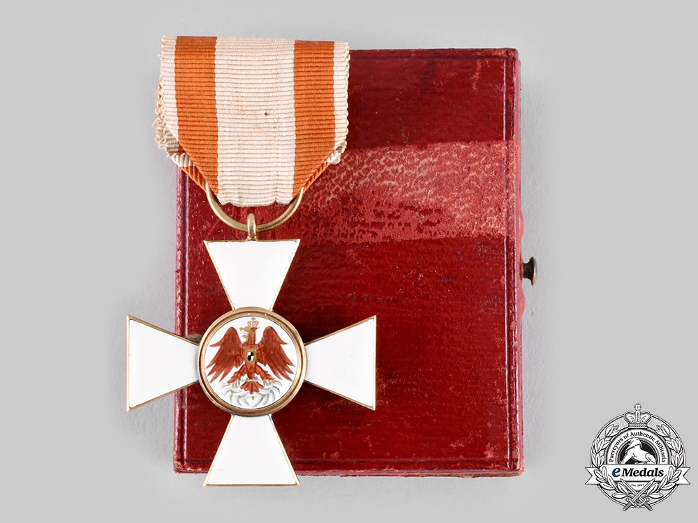 eMedals-Prussia, Kingdom. An Order of the Red Eagle, III Class in Gold, with Case, c.1900
