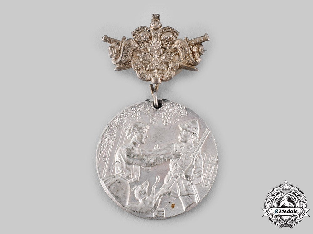 eMedals-Canada, Dominion. A South African Service Canada's Brave Boys Welcome Home Medal 1900