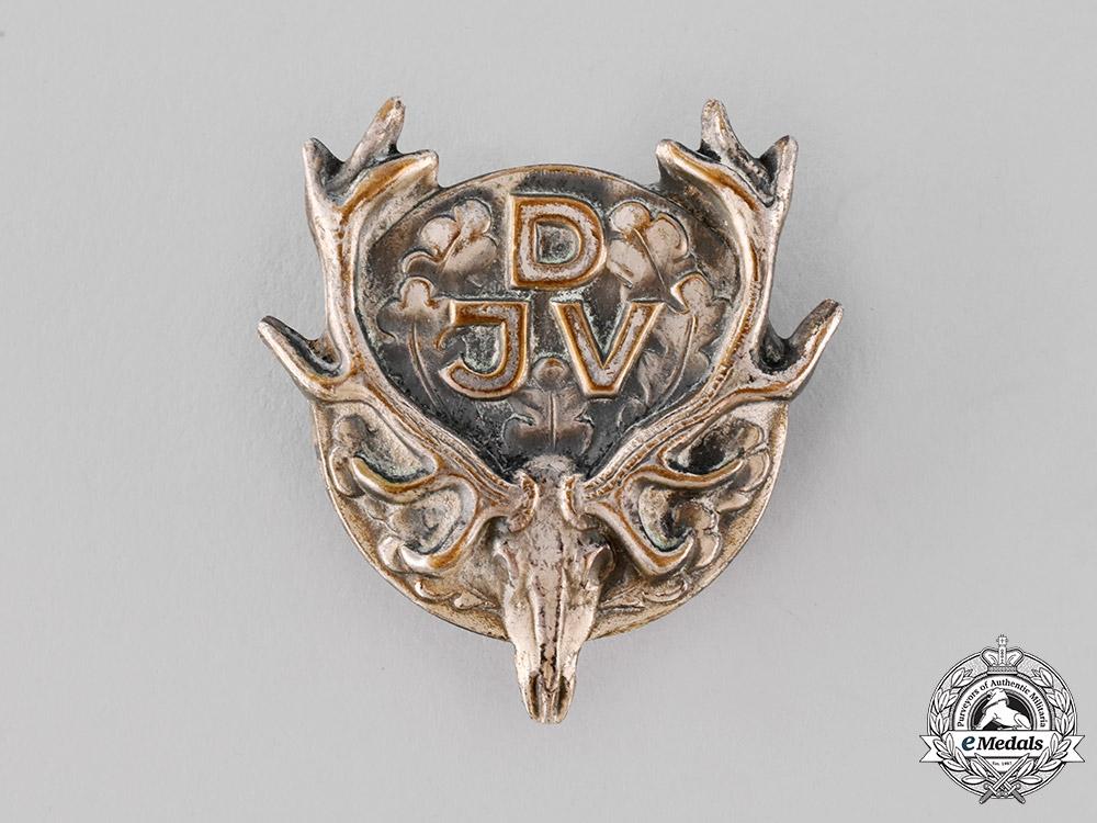 eMedals-Germany, DJV. A German Hunting Association (DJV) Badge