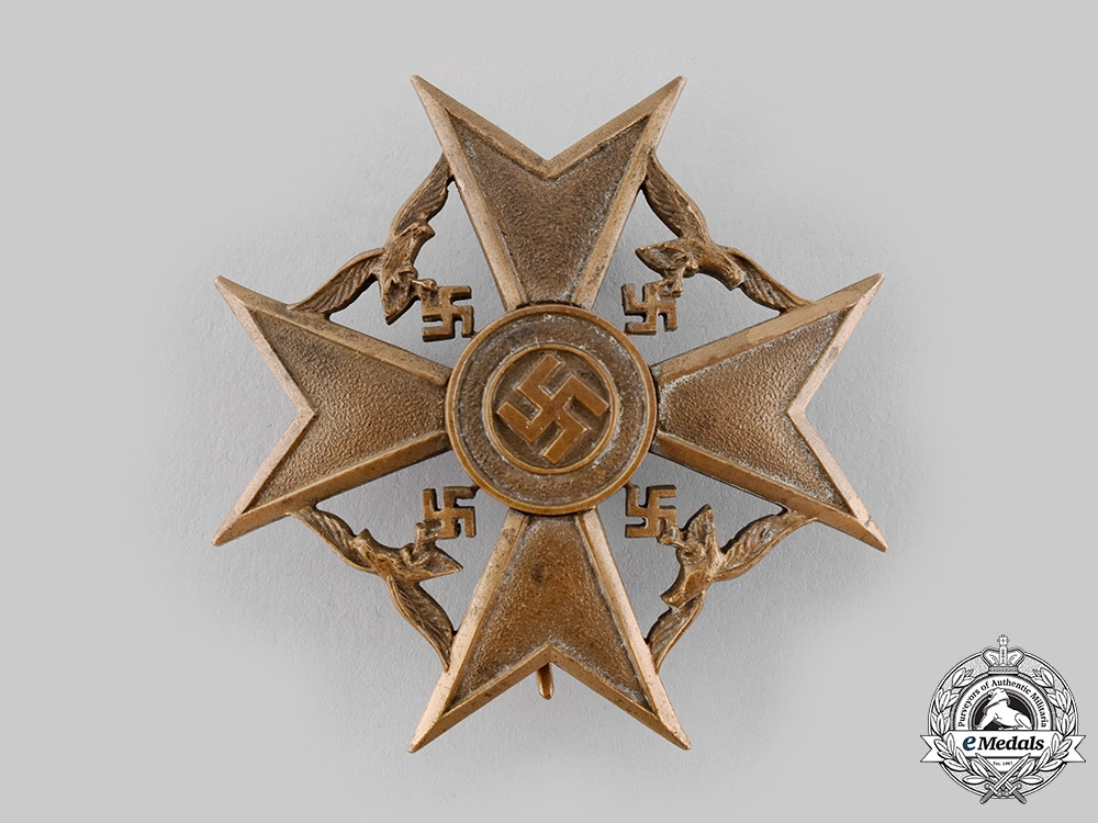 eMedals-Germany, Wehrmacht. A Spanish Cross in Bronze