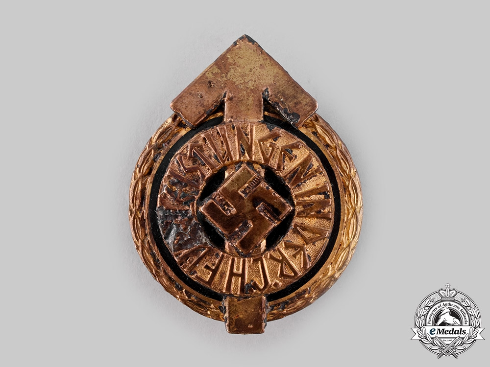 eMedals-Germany, HJ. A Golden Leader's Sports Badge, Ground Found