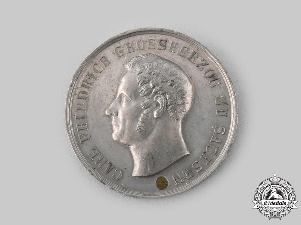 eMedals-Saxe-Weimar-Eisenach, Grand Duchy. A Silver Merit Medal, Museum Exhibition Example