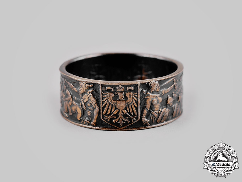 eMedals-Germany, Imperial. A Patriotic Ring, c.1914