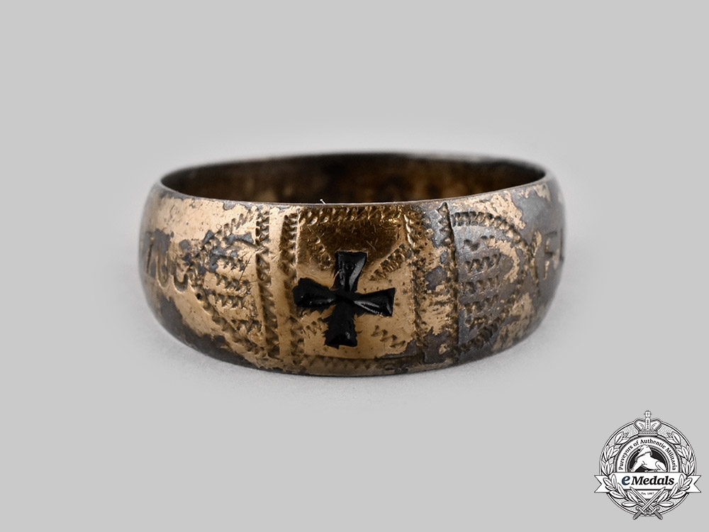 eMedals-Germany, Imperial. A Patriotic Ring, c.1915
