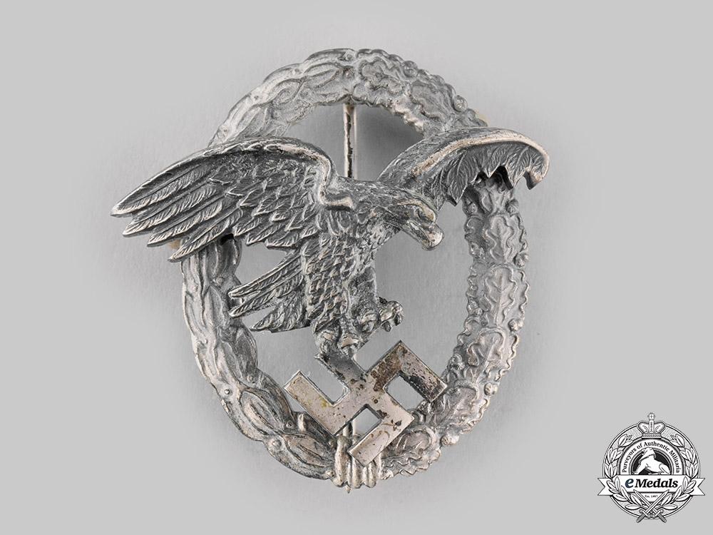 eMedals-Germany, Luftwaffe. An Observer Badge, by F.W. Assmann & Söhne