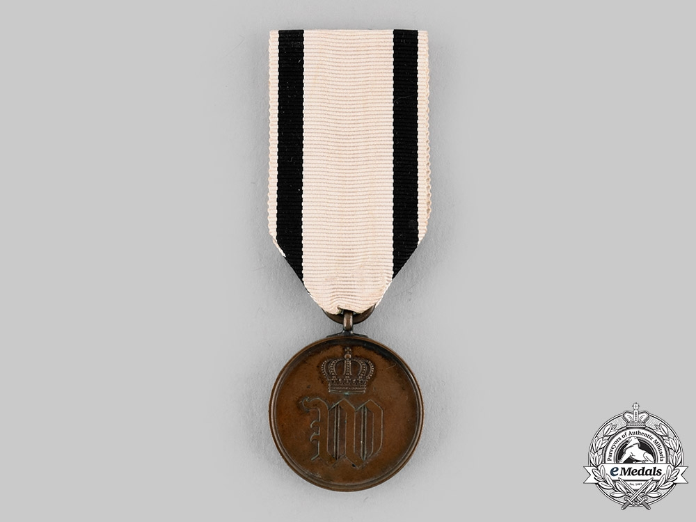 eMedals-Prussia, Kingdom. A Medal Commemorating the Assassination Attempt on Kaiser Wilhelm I, c.1878