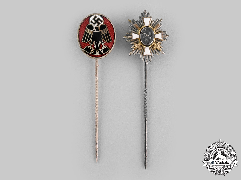 eMedals-Germany, Third Reich. A Pair of Stick Pins