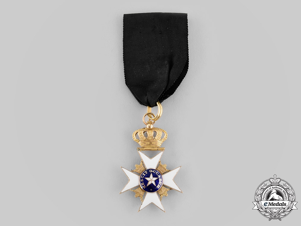 eMedals-Sweden, Kingdom. An Order of the North Star, I Class Knight in Gold, c. 1840