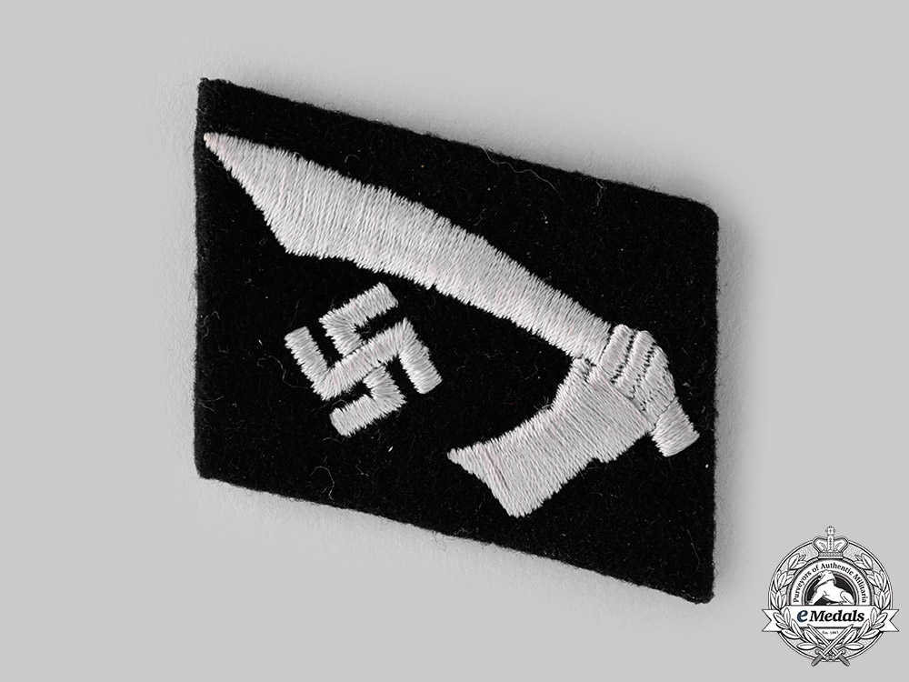 eMedals-Germany, SS. A 13th Waffen Mountain Division of the SS Handschar Collar Tab