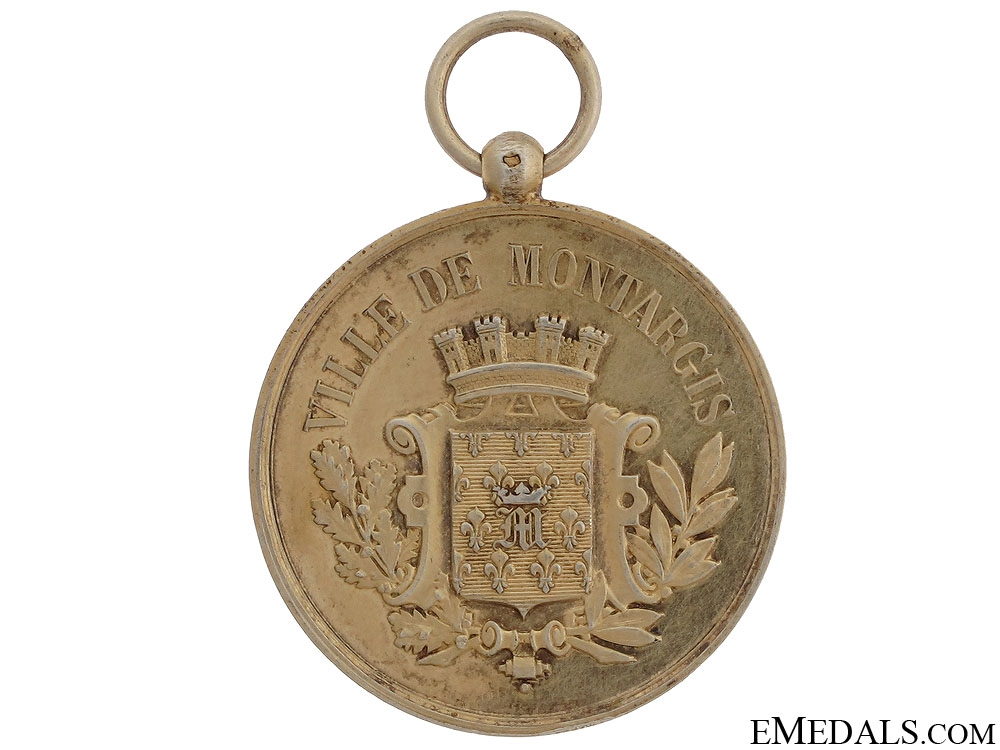 eMedals-City of Montargis School Battalion Shooting Medal