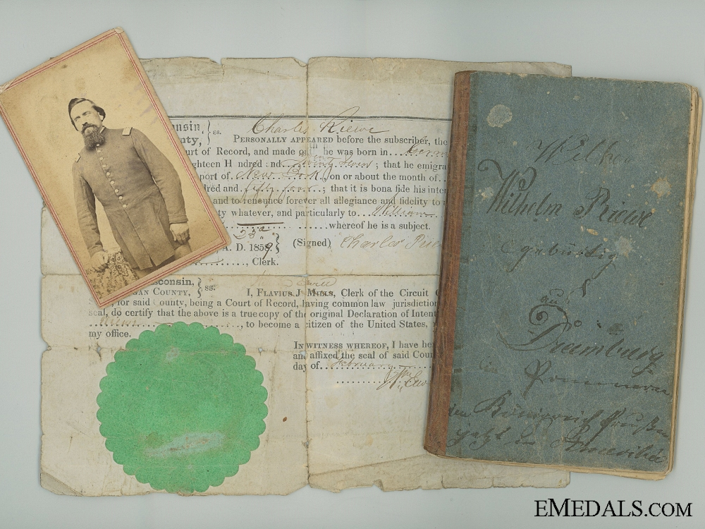 eMedals-US Civil War & Franco Prussian War Documents