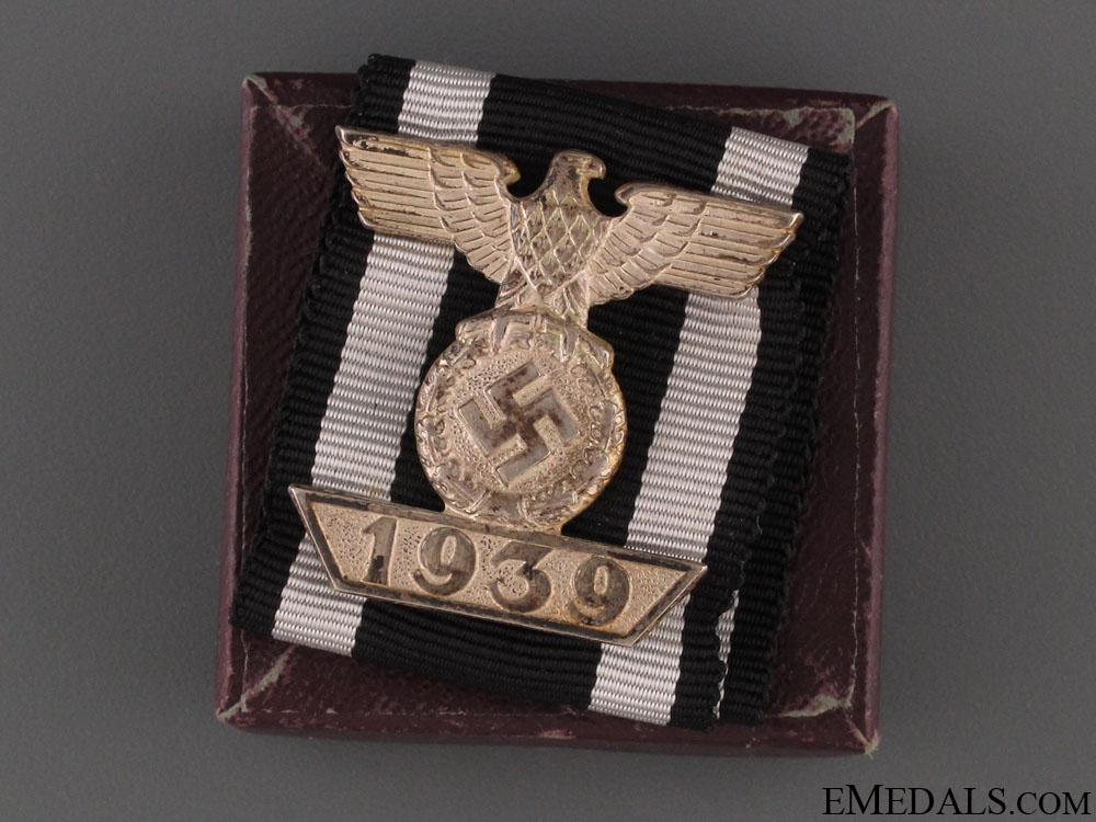 eMedals-Clasp to Iron Cross Second Class - Cased
