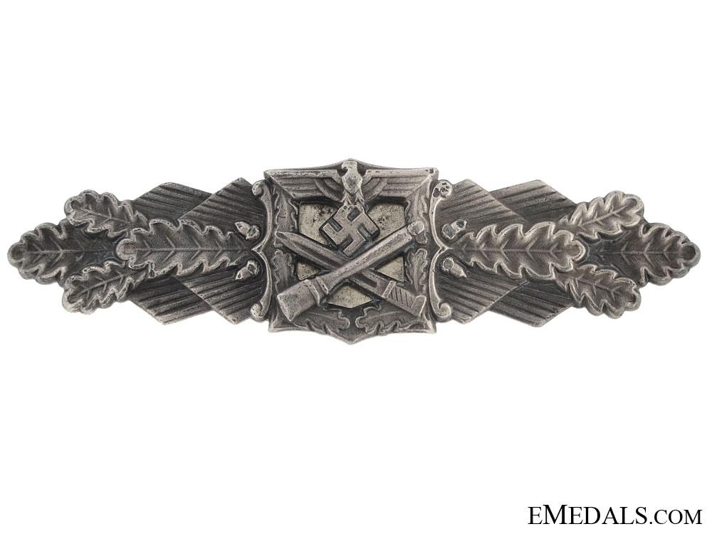 eMedals-Close Combat Clasp-Silver Grade - FLL