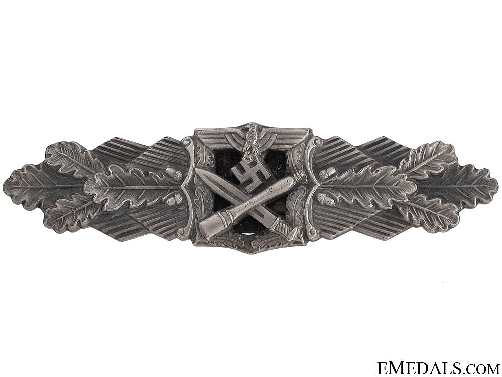 eMedals-Close Combat Clasp-Silver Grade - RS