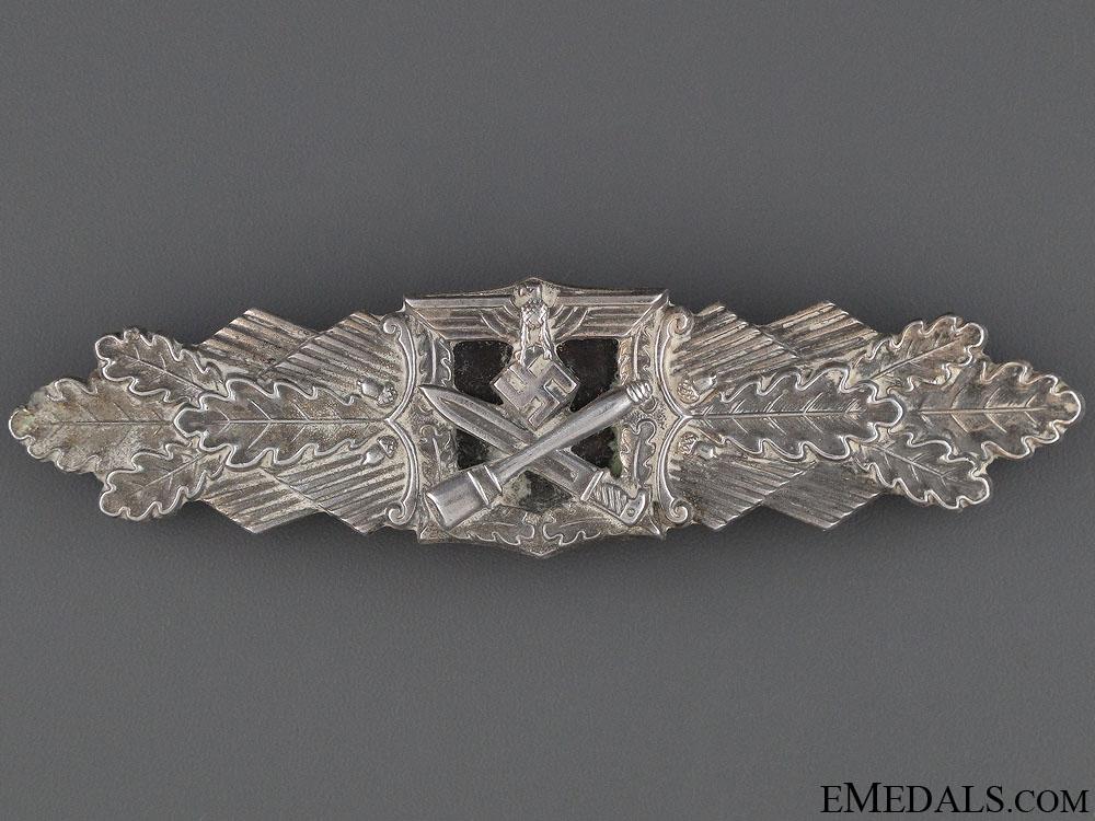 eMedals-Close Combat Clasp - Silver Grade