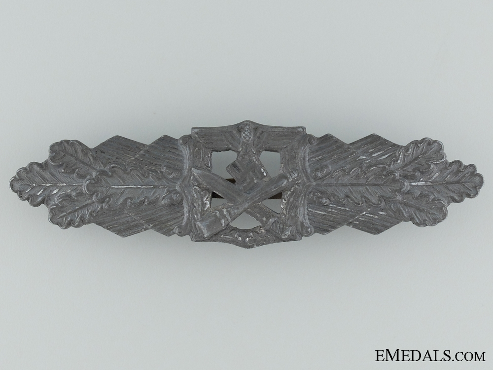 eMedals-Close Combat Clasp; Silver Grade by Rudolf Souval
