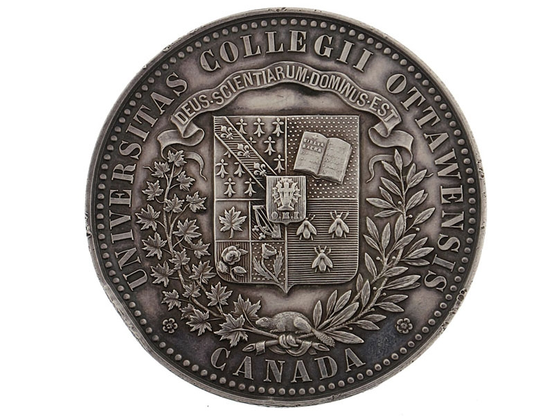 eMedals-(University of Ottawa) Academic Achievement Medal, 1893