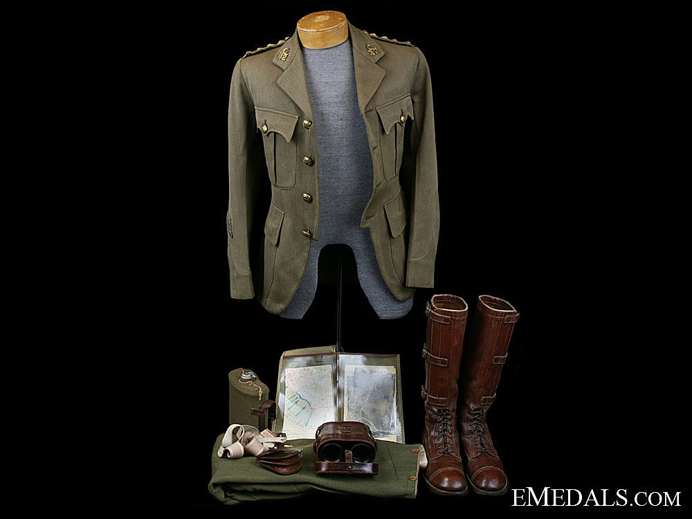eMedals-A First War Canadian 42nd Battalion Officers Uniform