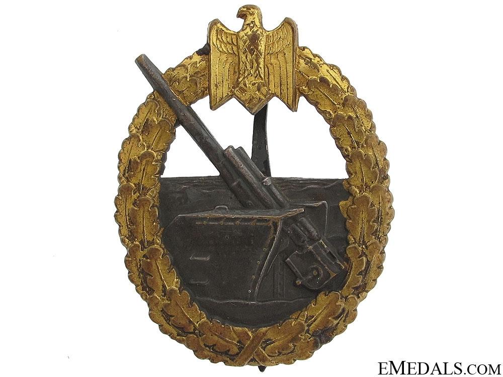 eMedals-Coastal Artillery Badge by Juncker