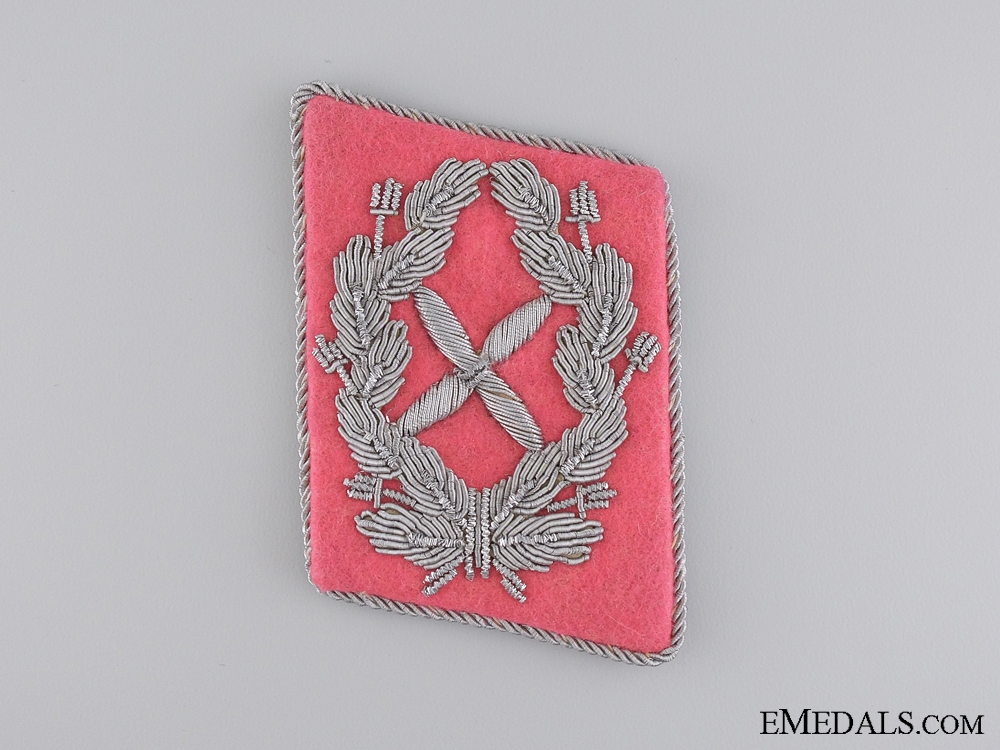 eMedals-Collar Tab of Luftwaffe Chief Staff Engineer