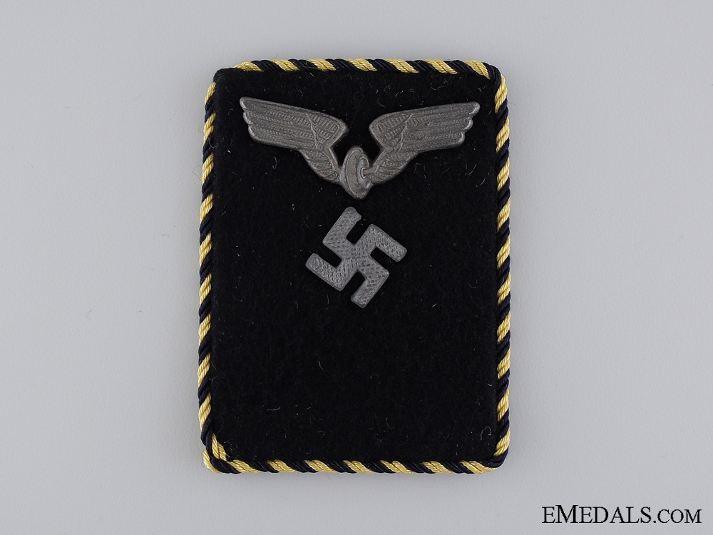 eMedals-Collar Tab of Reichsbahn Staff; Pay Group 17a