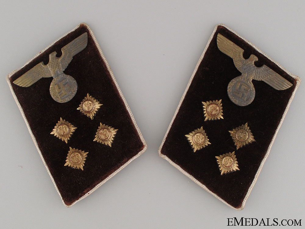 eMedals-Collar Tabs Pair - Kreis Gemeinschaftsleiter