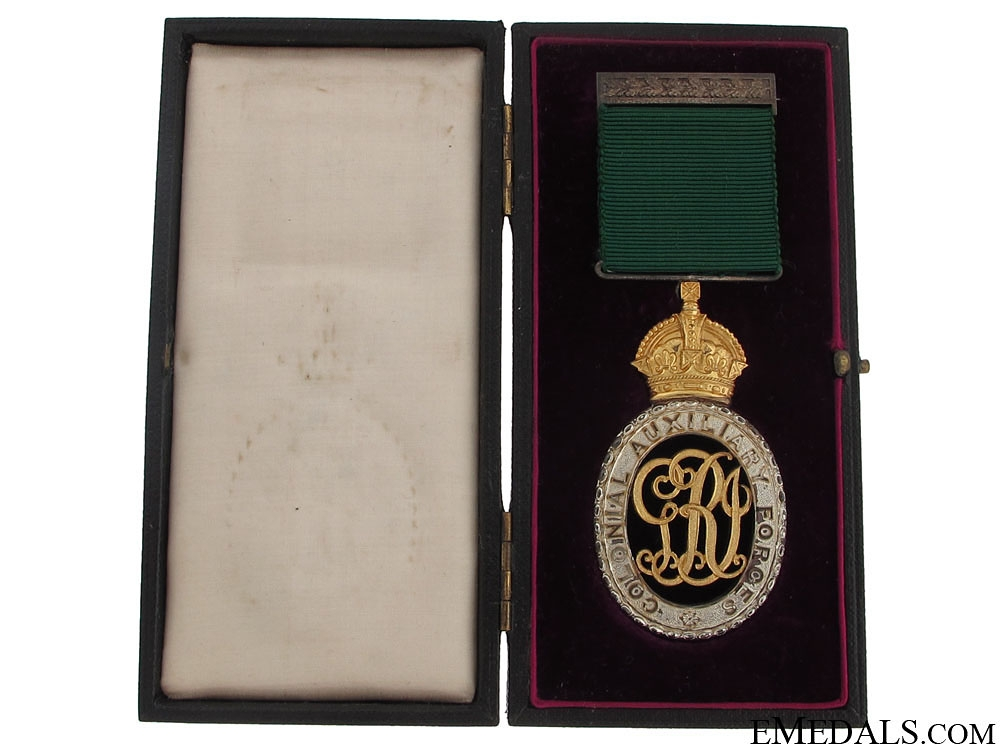 eMedals-Colonial Auxiliary Forces Officers' Decoration - CAMC