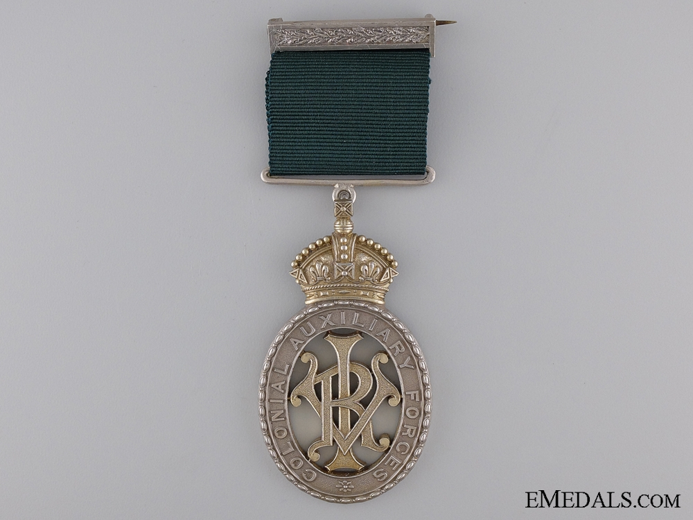 eMedals-Colonial Auxiliary Forces Officers' Decoration to the Victoria Rifles