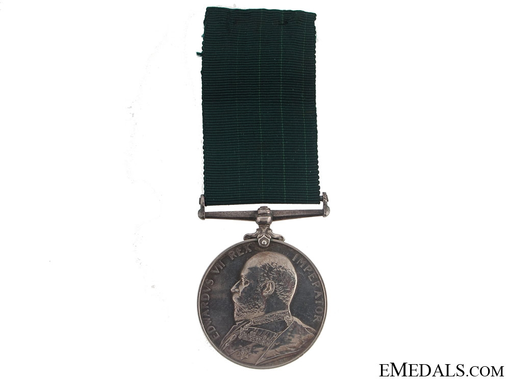 eMedals-Colonial Auxilliary Forces Long Service Medal - 75th Infantry Regiment