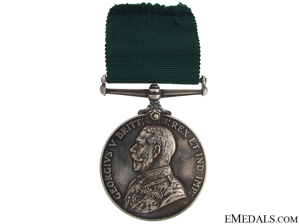 eMedals-Colonial Auxilliary Forces Long Service Medal