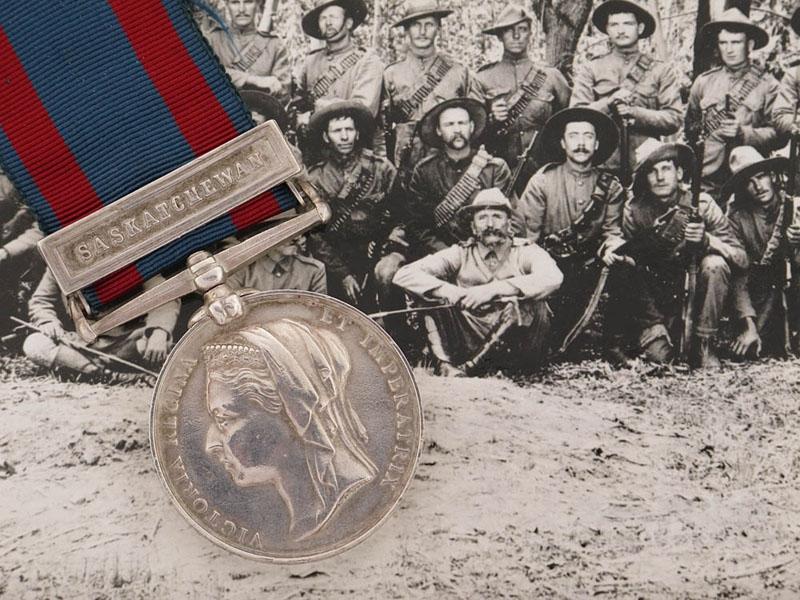 eMedals-A Historical North West Canada 1885 - Saskatchewan Clasp
