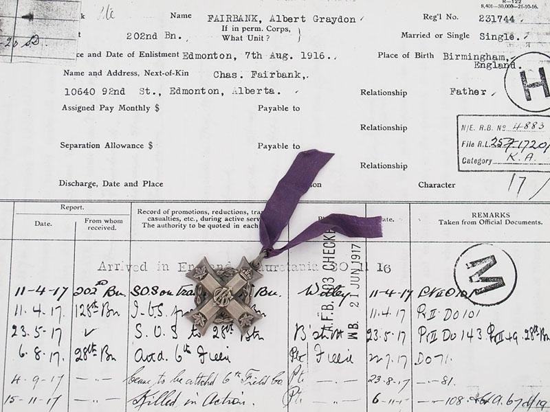 eMedals-Memorial Cross- Passchendaele Casualty