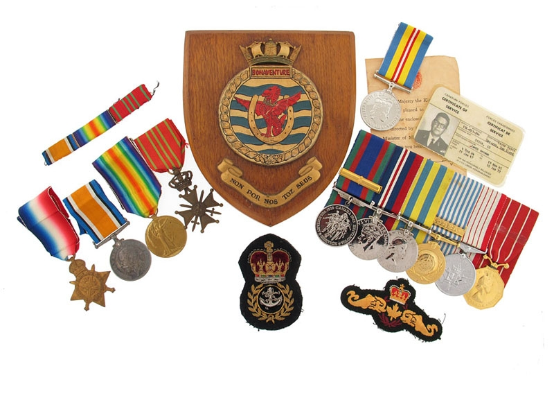 eMedals-A Father & Son KIA Group with Belgian War Cross