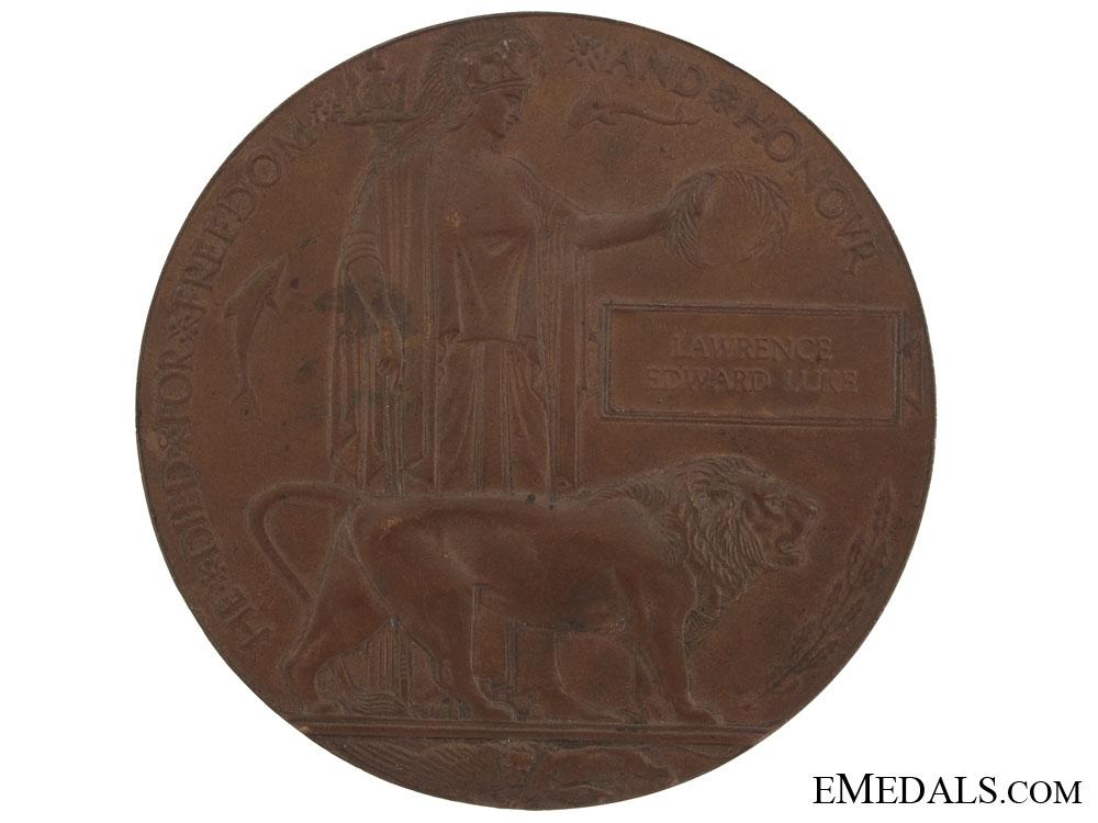 eMedals-A Great War Memorial Plaque
