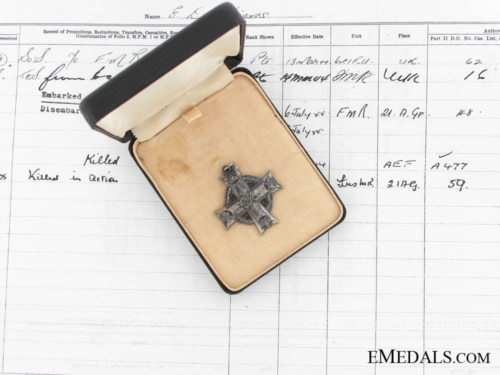 eMedals-Memorial Cross - Les Fusiliers Mont-Royal