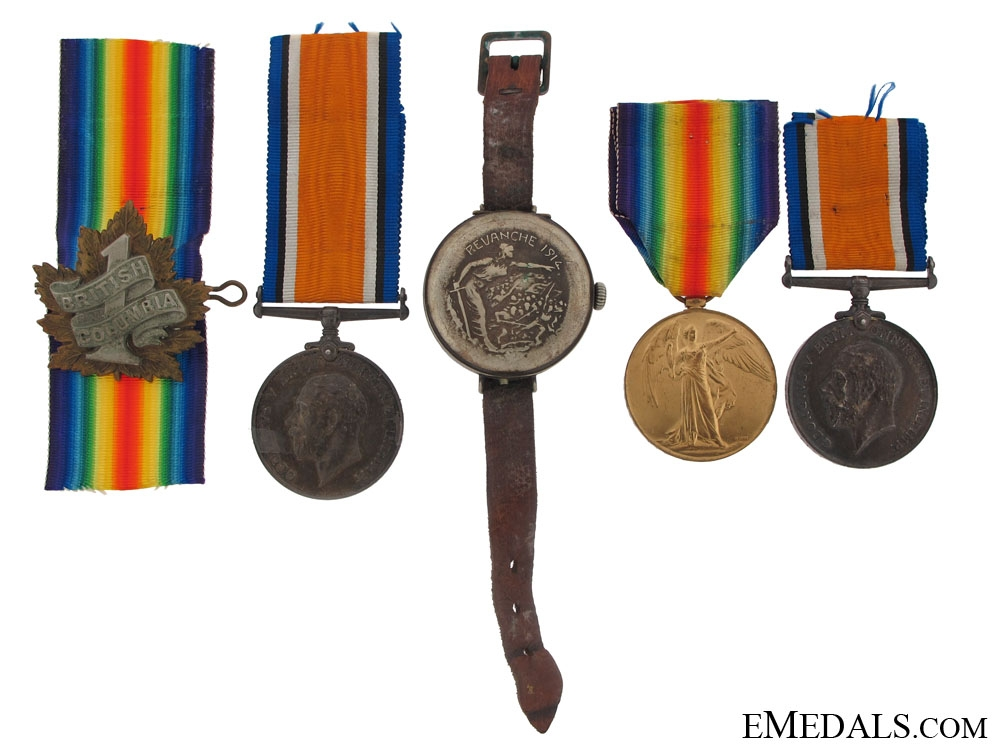 eMedals-A First War Pair to the 7th Canadian Infantry Battalion