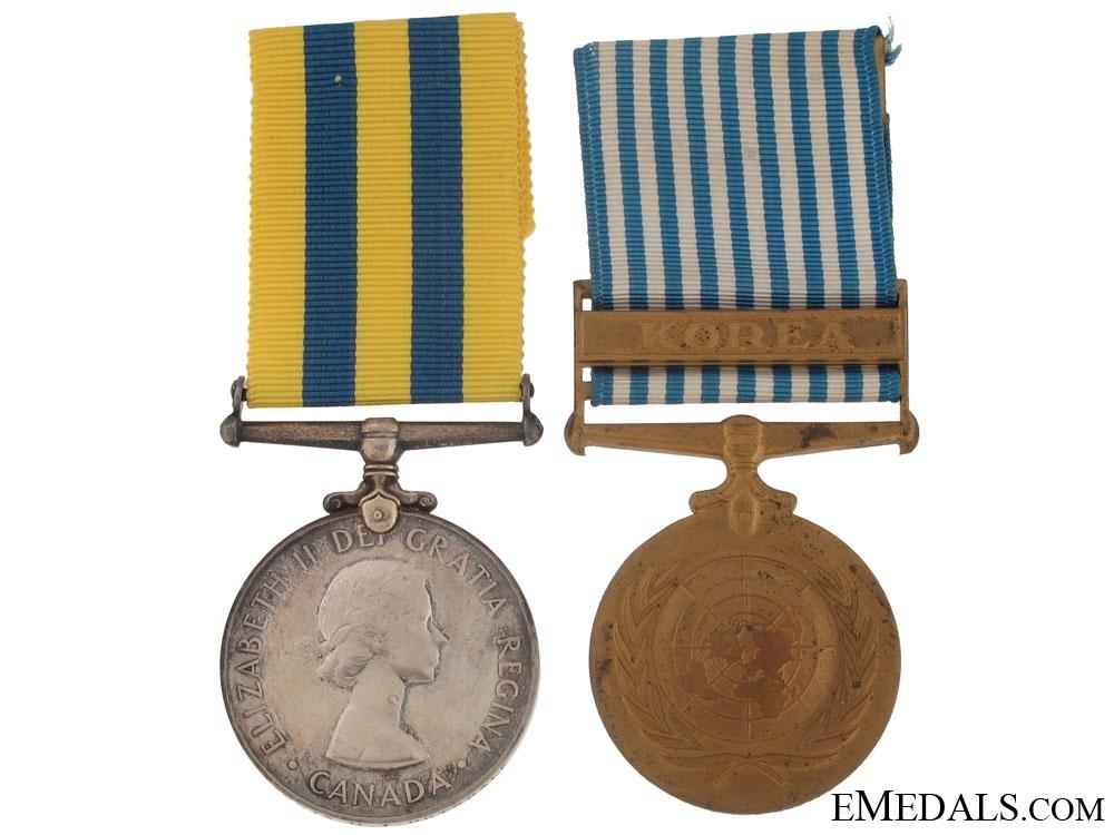 eMedals-A Canadian Korean War Pair