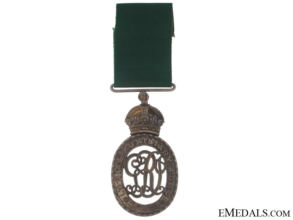 eMedals-Colonial Auxiliary Forces Decoration to Col. Rogers CMG. DSO. MC. ADC.