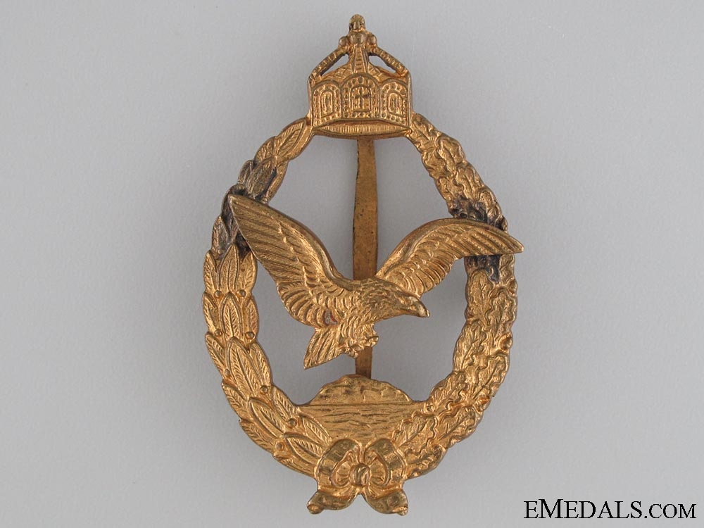 eMedals-Commemorative Badge for Naval Pilots & Observers