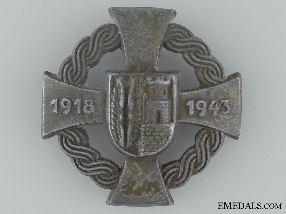 eMedals-Commemorative Badge for the Annexation of the Medjimurje province, in Northern Croatia
