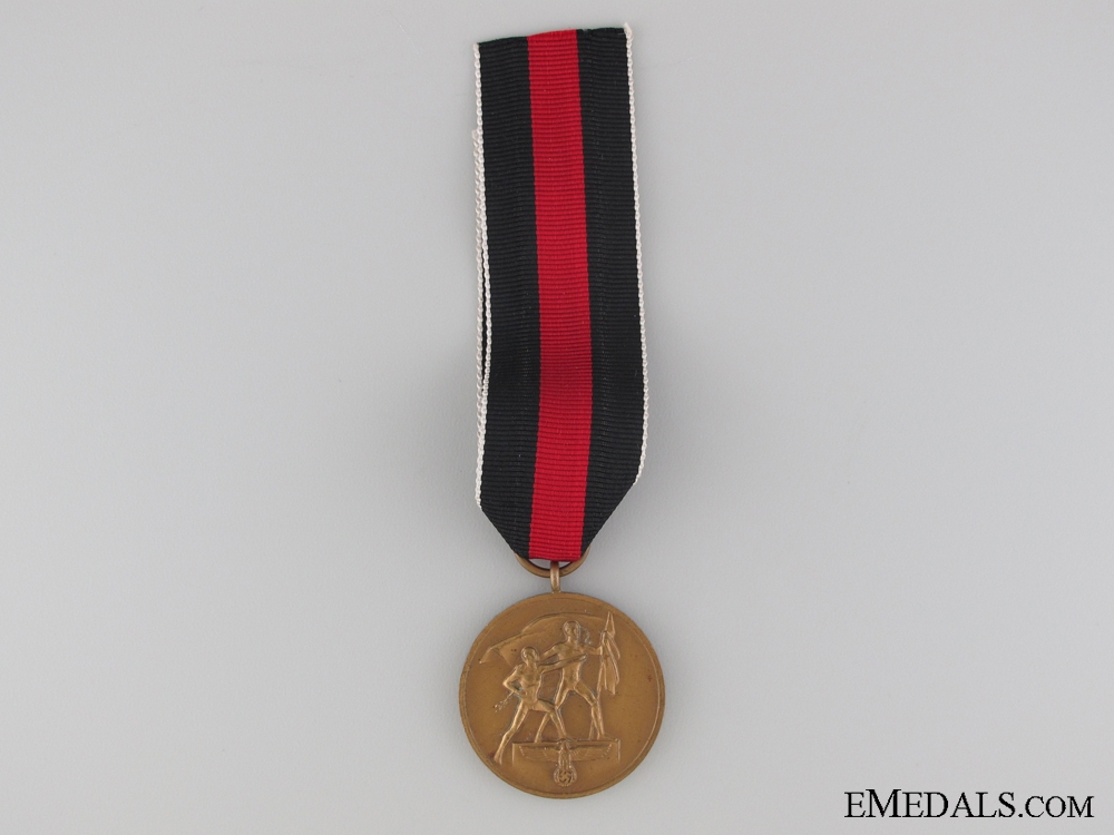 eMedals-Commemorative Medal for 1 October 1938